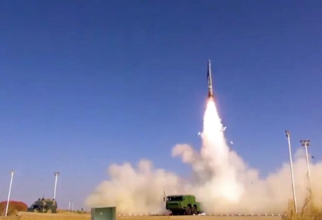 توان حمله هستهای چین