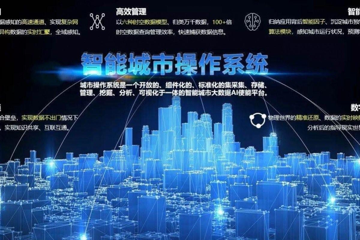 سیستم عامل شهر هوشمند شیونگان