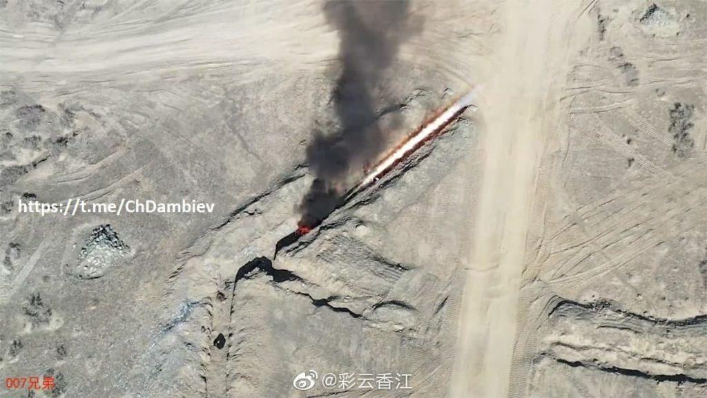 راکت انداز جدید چینی