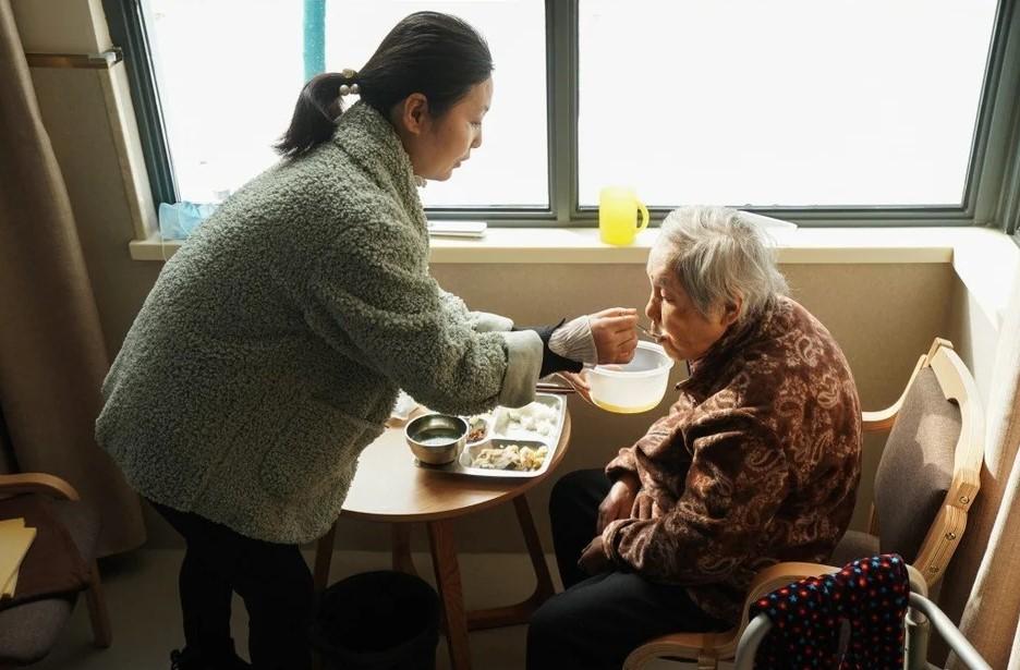 پیر شدن جمعیت چین