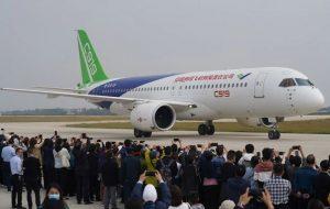 هواپیمای C919 چین