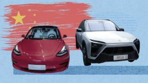 خودروهای برقی چینی
