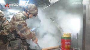 آشپزخانه متحرک جدید ارتش چین