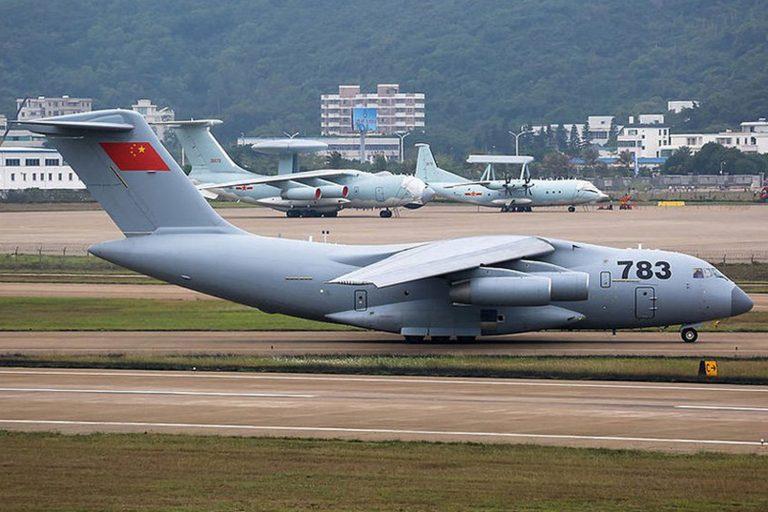 هواپیمای ترابری Y-20 چین