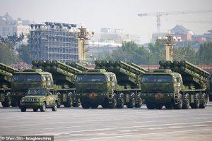 برتری نظامی چین