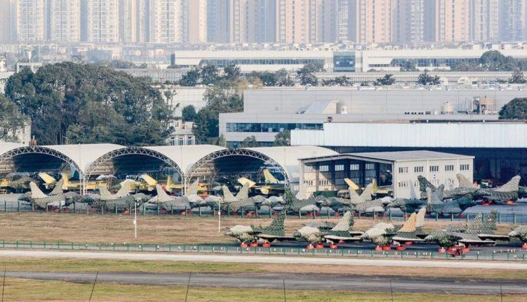 جنگنده چینی J-10