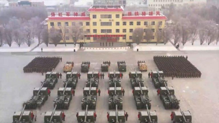 مدرنسازی فرماندهی نظامی شین جیانگ
