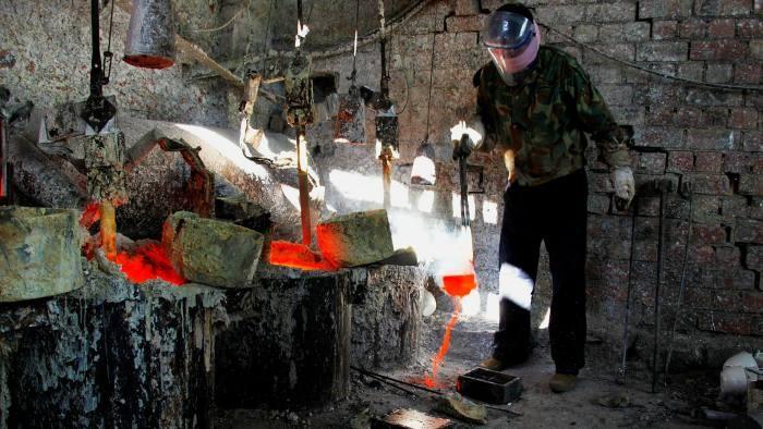 ماده معدنی کمیاب خاکی در چین