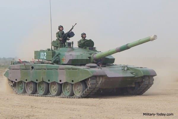موشک جاولین و تانک تایپ 99 چینی