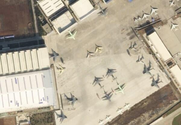 هواپیمای سوخترسان در چین