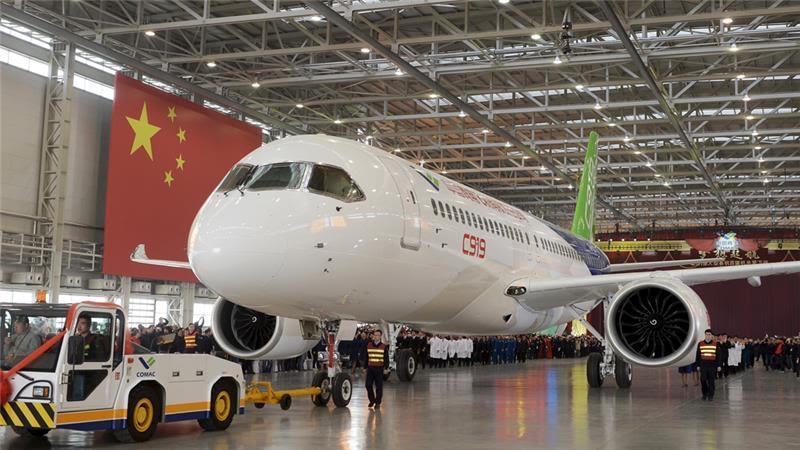 شرکت هواپیمایی مسافربری بازرگانی چین