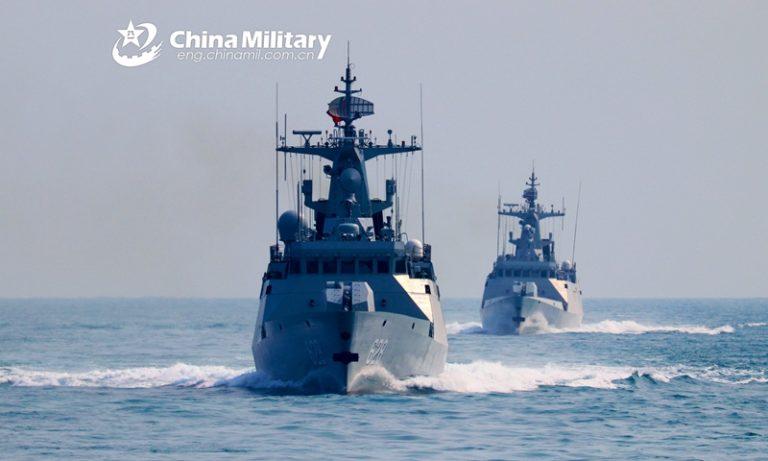 ناوچههای موشک انداز تایپ 056 در چین