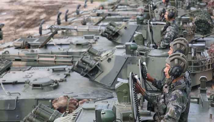 بودجه دفاعی نظامی چین