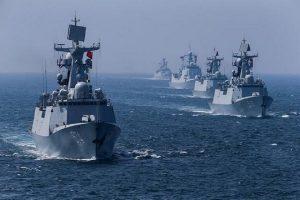 چین صاحب بزرگترین ناوگان دریایی جهان