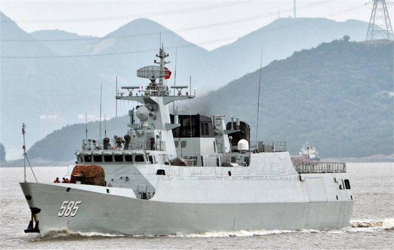 الجزایر به چین یک ناو جنگی سفارش داد