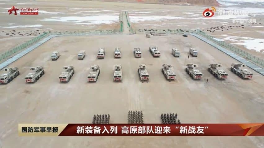 مدرنسازی واحدهای نظامی در شین جیانگ